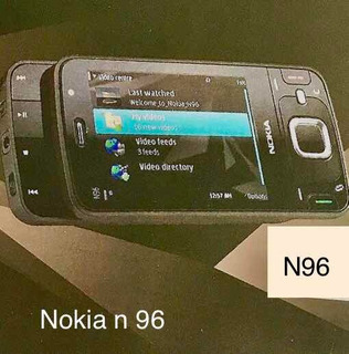 Nokia N96 Novo Na Cx Raridade!!!