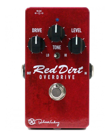 Pedal Keeley Red Dirt Overdrive C/ Nfe & Garantia