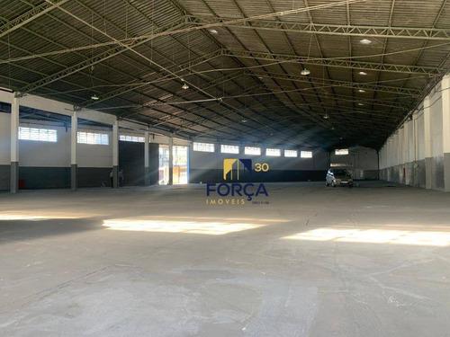 Galpão Para Alugar, 2300 M² - Cumbica - Guarulhos/sp - Ga0781