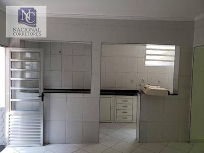 Casa Com 1 Dormitório Para Alugar, 65 M² Por R$ 900/mês - Vila Cláudio - Santo André/sp - Ca2548