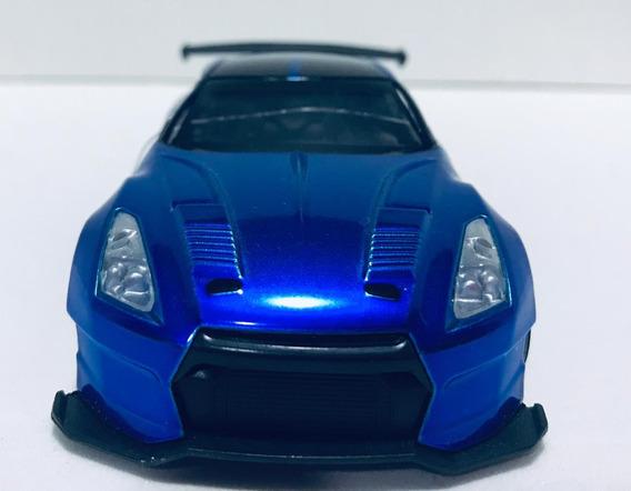 Miniatura Velozes E Furiosos Nissan Azul Escala 1/32