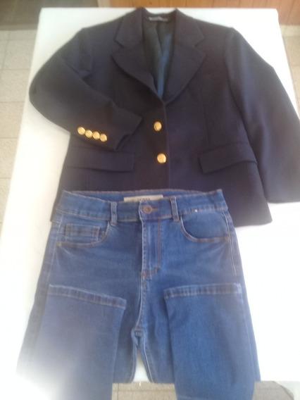 Saco Niño Polo Ralph Lauren + Pantalon Jeans 8 Años