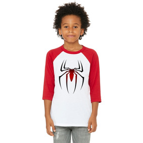 Playera 3/4 Araña, Spiderman, Marvel, Niño