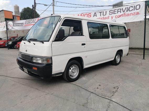 Nissan Urvan 2.4 Dx Larga 15 Pas Mt 2000