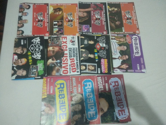 Lote Revistas Rebeldes