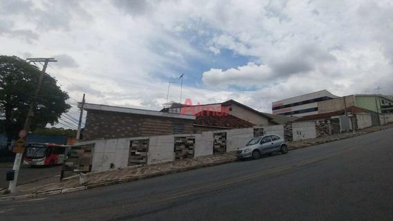Ótimo Terreno 10,30 X 53,00 Próximo Estação Dom Bosco Da Cptm - V7854