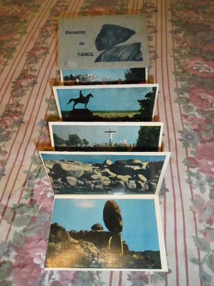 Tarjetas Postales Recuerdo De Tandil-10 Tarjetas Antiguas
