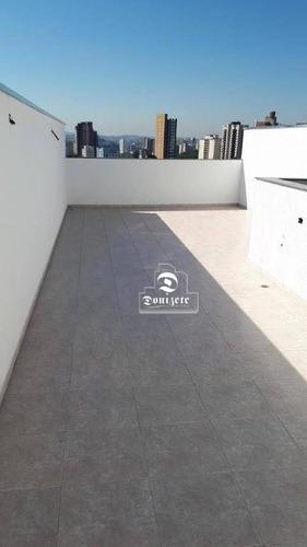 Cobertura À Venda, 112 M² Por R$ 380.000,00 - Vila Alpina - Santo André/sp - Co11789