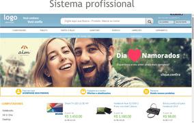 Mega Loja Virtual Com Sistema Profissional - Site Pronto