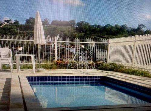 Apartamento Com 2 Dormitórios À Venda, 85 M² Por R$ 500.000,00 - Santa Rosa - Niterói/rj - Ap2922