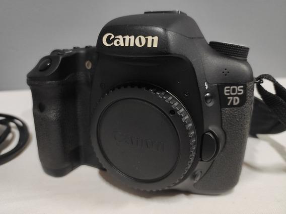 Canon 7d Só 22 Mil Cliks