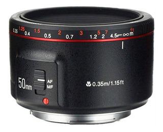 Lente Yongnuo Yn-50mm F1.8 Ii Ef Para Canon