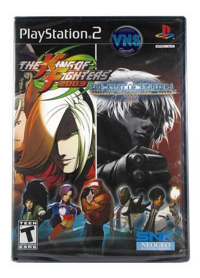 The King Of Fighters 2002 2003 - Ps2 - Original - Americano - Mídia Física - Lacrado