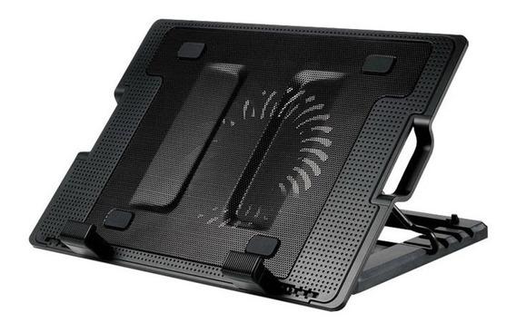Base Enfriadora Ventilador Laptop Ajustable Posicio Usb /e