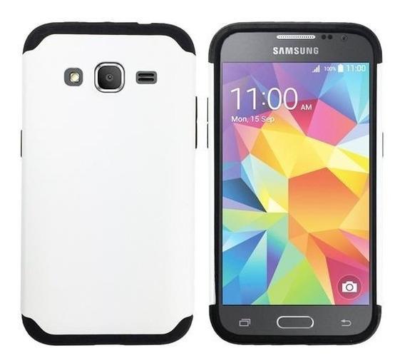 Icase - Carcasa Extreme Blanco - Samsung J7 / J7 Neo