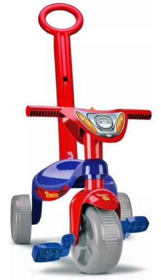 Triciclo Infantil Velotrol Herois Super Teia - Samba Toys