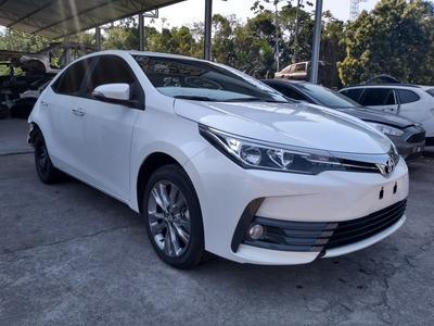 Sucata Toyota Corolla Xei 2019 Para Peças