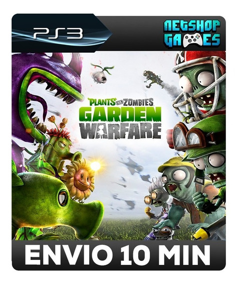 Plants Vs Zombies Garden Warfare - Psn Ps3 Envio Automático
