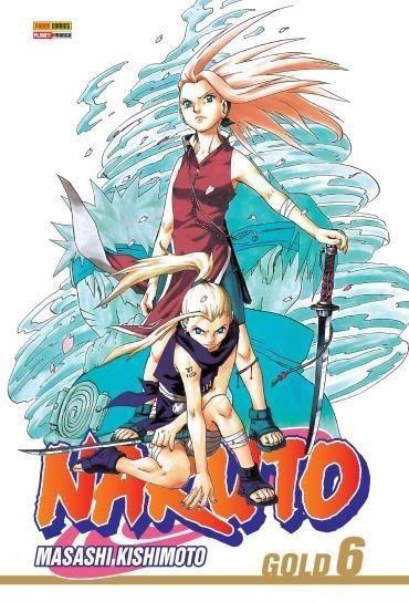 Naruto Gold 06 - Panini 6 - Bonellihq Cx304 H19