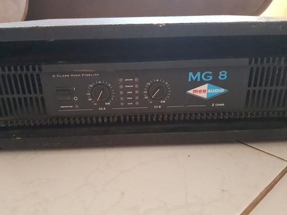 Amplificador De Potência Mea Audio Mg8