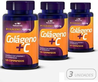 Kit 3x Colágeno Colastrina Botox 360 Cápsulas Anti-estrias