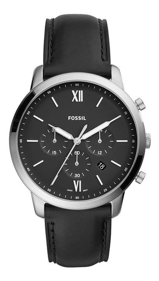 Relógio Fossil Masculino Neutra Chrono Prata - Fs5452/0pn