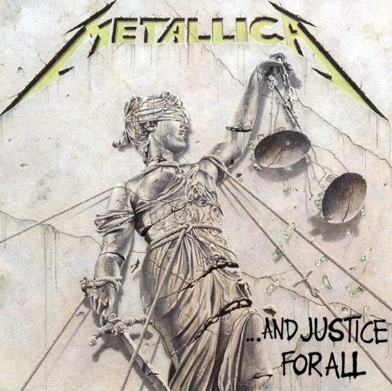 Cd Metallica ... And Justice For All - Novo Original Lacrado