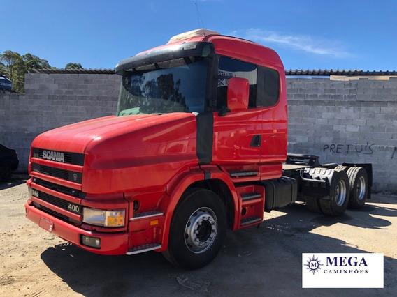Scania T124 400 Cavalo Truck