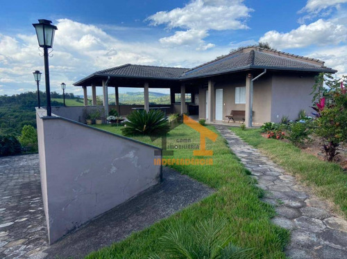 Chácara Com 1 Dormitório À Venda, 1109 M² Por R$ 395.000,00 - Jardim Monte Verde - Itatiba/sp - Ch0140
