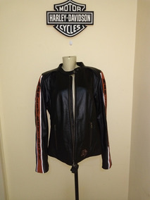 Jaqueta Harley Davidson Confort Cruiser.lthr.bkack Fem.g