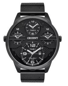 Relógio Orient Xl Masculino Analógico Preto Mpsct002 P2px