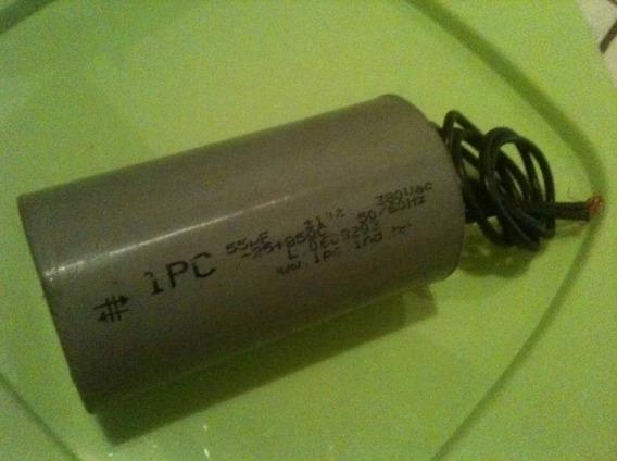 Capacitor Partida 55uf 380vac P/ Diversos Motores Ipc