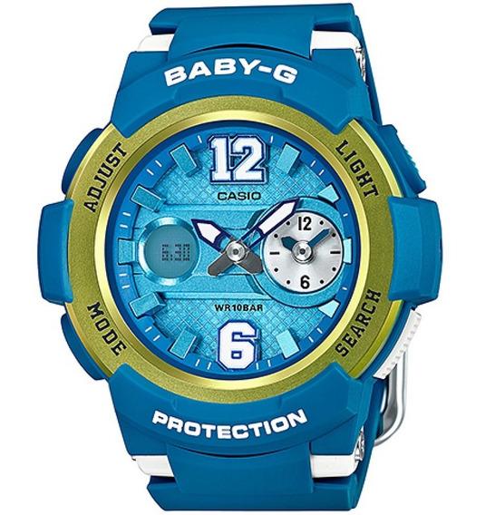 Relógio Casio Baby-g Anadigi Unissex Bga-210-2bdr