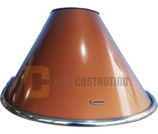 Campana Extractor Cocina Galaxia Semicircular 60cm Cobreada