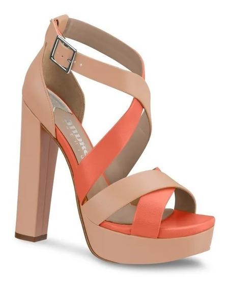 Zapatilla Andrea Ankle Strap Multicolor Mod. 2660028