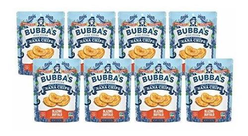 Imagen 1 de 9 de Bubba Fine Foods Paleo Veganas Chips De Nana Sin Gluten