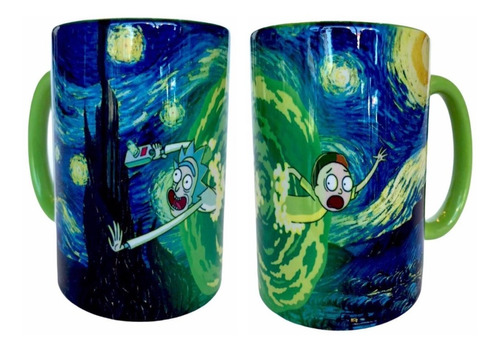 Imagen 1 de 2 de Taza Rick And Morty Noche Estrellada