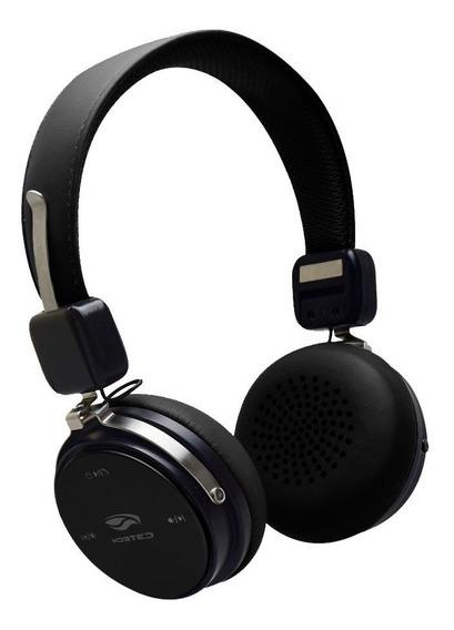 Headphone Sem Fio Bluetooth Preto Bateria Longa Duração