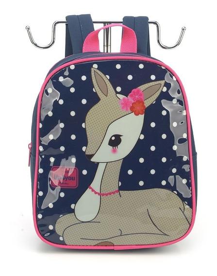 Mochila Petit Up4you Bambi - Luxcel Is32609up-cz