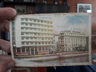 Postal Antigo Vista Aérea De Recife E Outros