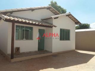 Casa Com 2 Quartos Para Comprar No Bom Jardim Em Mário Campos/mg - 5259