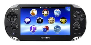 Playstation Vita Oled Impecable + Estuche + Muchos Juegos