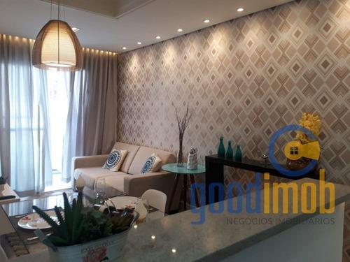 (lançamento) Apartamento Com Suíte - Residencial Mirante Da Colina, Sorocaba/ Sp - Ap0158