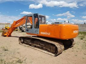 Maquinaria De Construcción Excavadora Hitachi