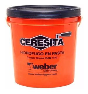 Ceresita Weber Aditivo Hidrofugo En Pasta Balde 4 Litros