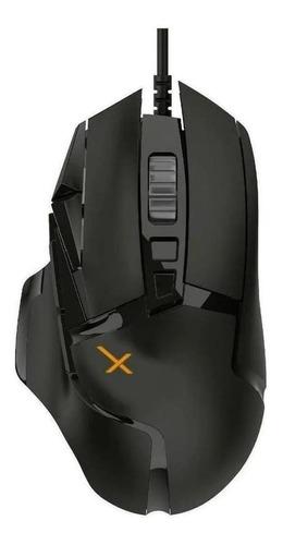 Imagen 1 de 3 de Mouse de juego Xzeal  XZ950 negro
