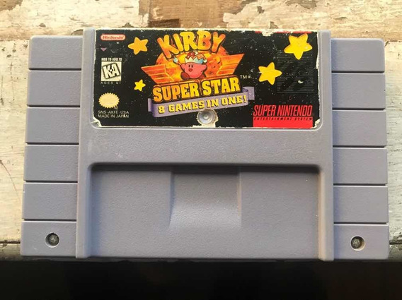 Kirby Super Star (8 Games In One)