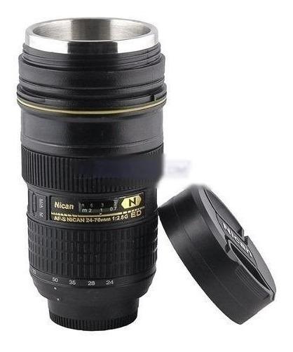Canecas Térmicas Lente Fotográfica 24-70mm Nican Tipo Nikon