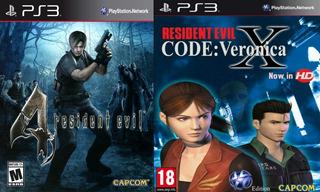 Resident Evil 4 + Resident Evil Code Veronica ~ Ps3 Digital