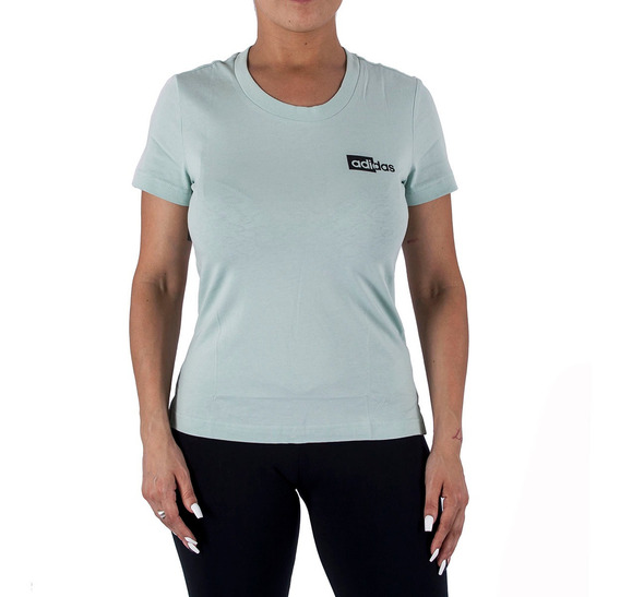 Remera adidas Read Verde Mujer